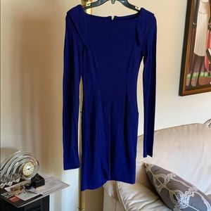 Royal Blue Mini BodyCon Dress